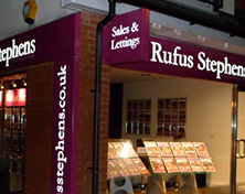 RufusStephens plastic shop front CNC sign